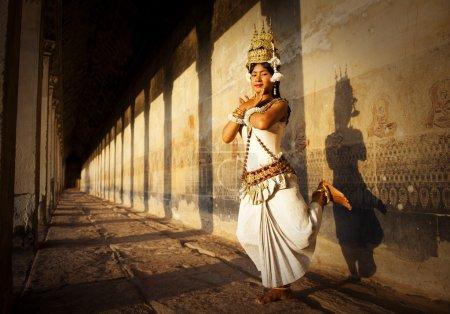 Aspara Dancer at Angkor Wat