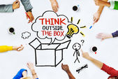 Hands on Whiteboard with Think Outside the Box