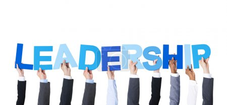 Arms Holding Word Leadership