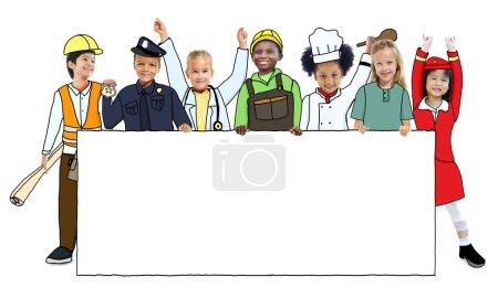 Children in Dreams Job Uniform