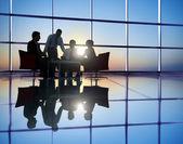 Üzletemberek találkozó