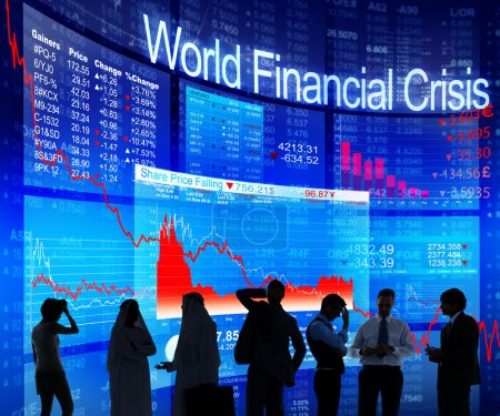 People Discussing About World Financial Crisis