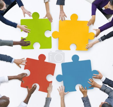 Business Team Unity Jigsaw Puzzle