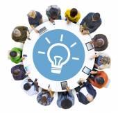 Lidé s inovační koncepcí