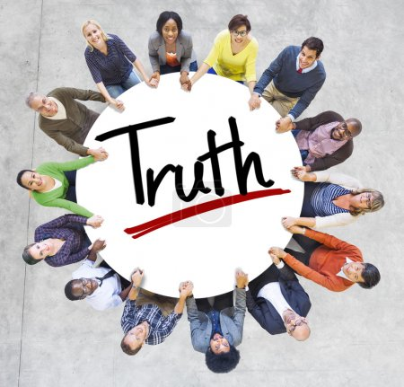 People and Truth Concept