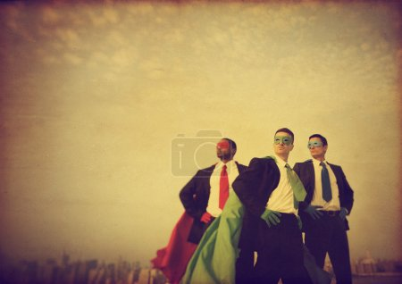 Superhero Businessmen