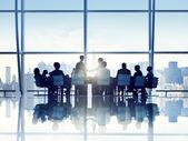 Business People in Board Room