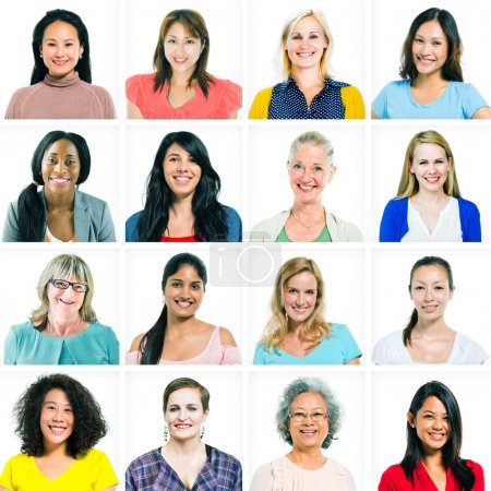 Diverse Multi-ethnic Women