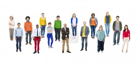 Multiethnic Diverse Colorful People