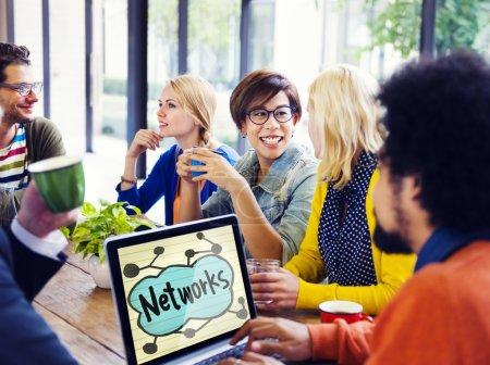 People Meeting and Brainstorming