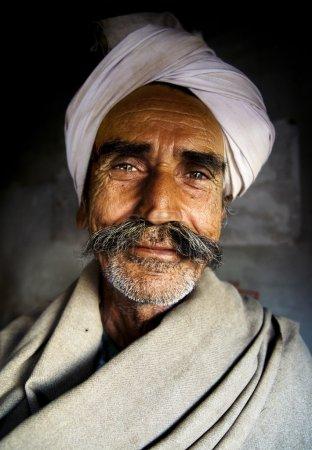 Indigenous Senior Indian Man