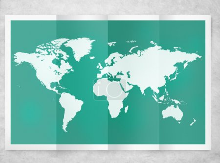 World Global Business Cartography