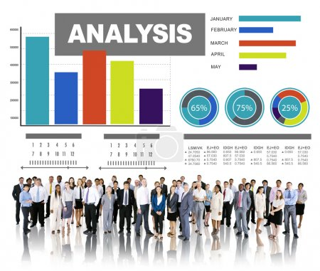 Analyzing information, statistic concept