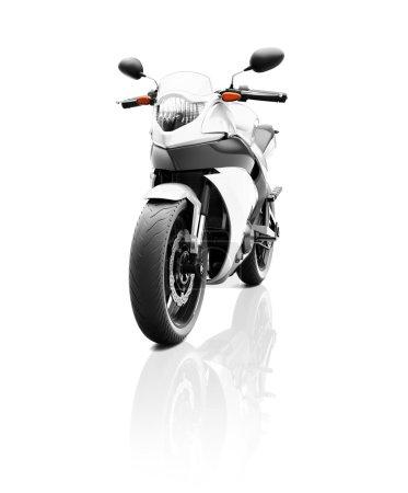 Modern Luxury Motorcycle