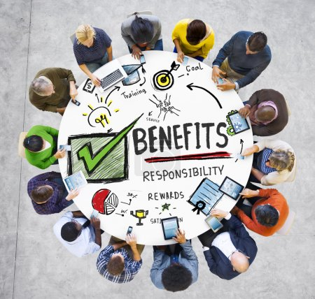 concept of business benefits