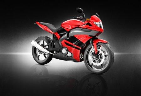 Modern Sport Motorcycle