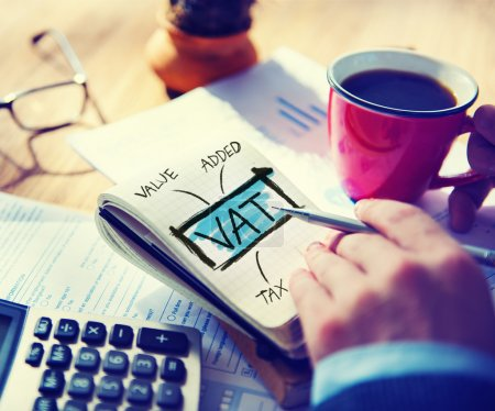 business concept of VAT