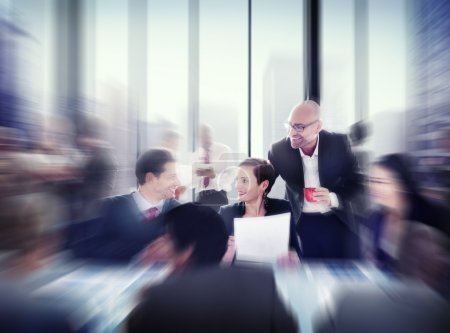 Business People at Meeting in Office