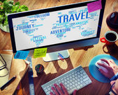 Global  Travel Explore Destination Concept