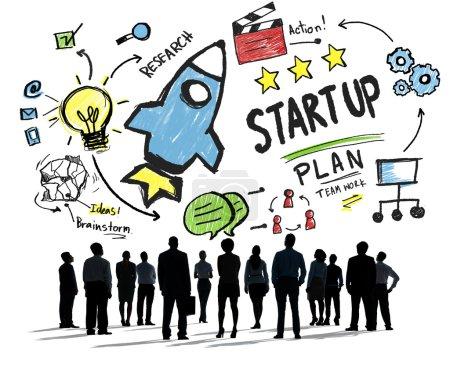 Start Up Business  Plan Concept