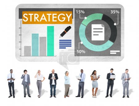 Strategy, Planning, Vision, Growth and Success Concept