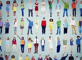 Mnohonárodnostní příležitostné lidí, pospolitosti koncepce