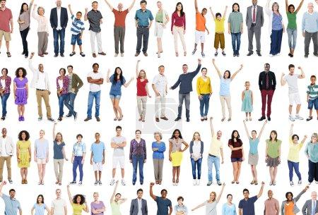Multiethnic Casual People Concept
