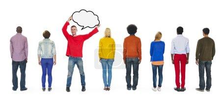 Diversity of Ethnicity, Togetherness Concept