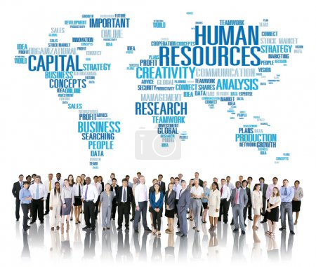 Business people and Human Resources Concept