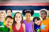 Diversity Children and Friendship Concept
