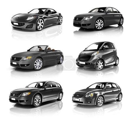 Contemporary Shiny Luxury Car set