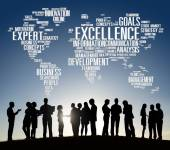 Diverse people and Excellence Concept