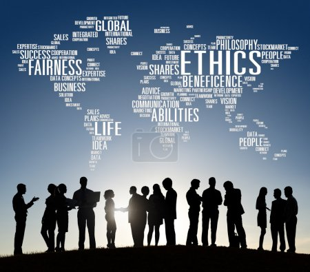 Diverse people and Ethics Concept