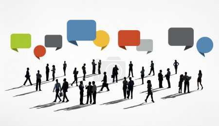 Diverse people and Business Collaboration