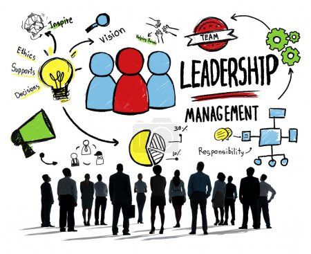 Diversity of Business People, Leadership Management