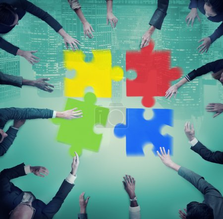 group of people and Jigsaw Puzzles