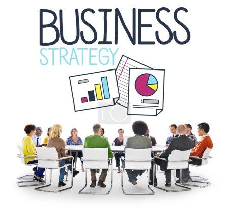 Business Strategy Development Concept