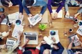 Podnikatelé na schůzce