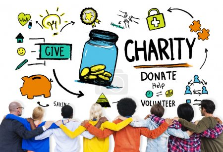 People and Charity Concept