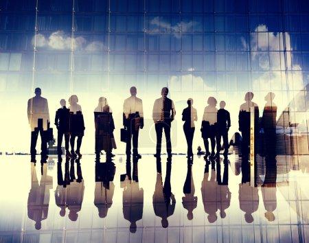 Business people in meeting room