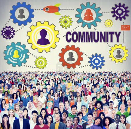 Diverse people and Community Concept