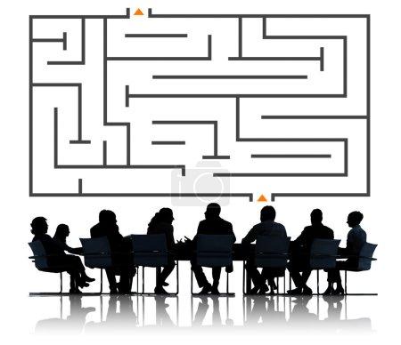 Maze direction decisions concept