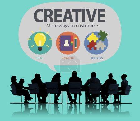 Creative Innovation Vision Concept