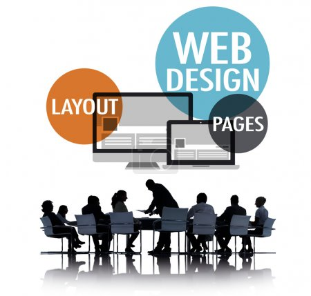 Web Design Creative Website Concept
