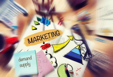 Marketing Demand Supply Sales