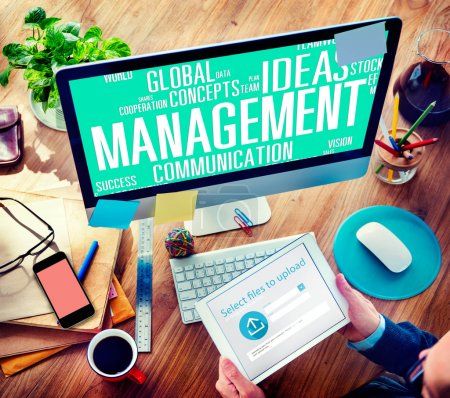 Management Success Business Concept