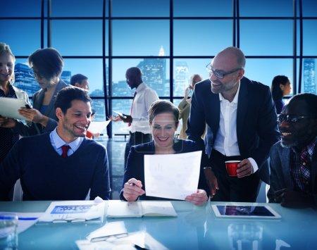 business leute brainstorming konzept