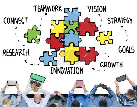 Teamwork Team Collaboration Concept