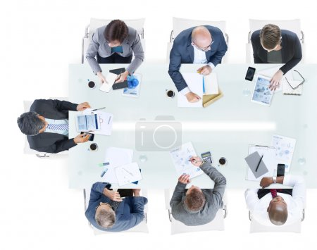 Business People Discussion Teamwork