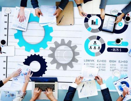 Teamwork Business Marketing Concept